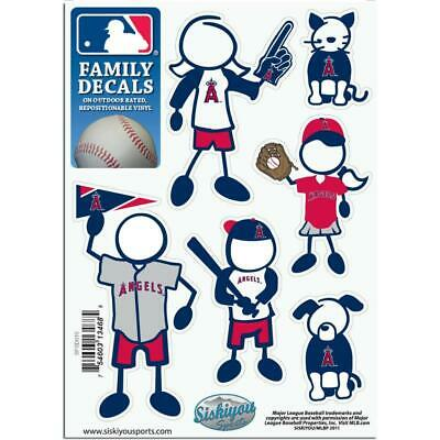 los angeles angels family decals 6 pack