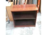 Dark teak bookcase