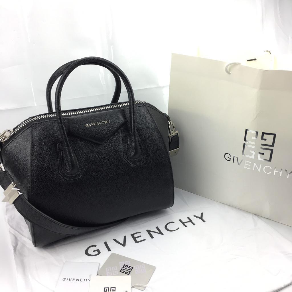 Women s Black givenchy  antigona  Small Black designer Leather Bag 499!!! 7003b107d2941