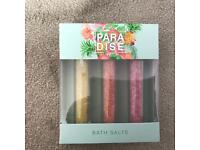 Paradise bath salts box set - sealed