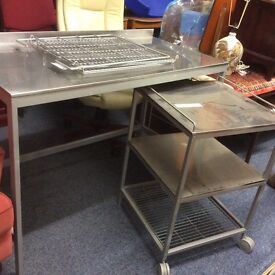 Ikea stainless steel workbench/table