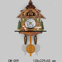 Decorative Collectibles Wooden Battery-operated Cuckoo Clock Home Décor I