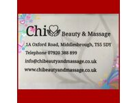 CHI BEAUTY & MASSAGE : Massage is the art of giving from two hands and the heart ❤️