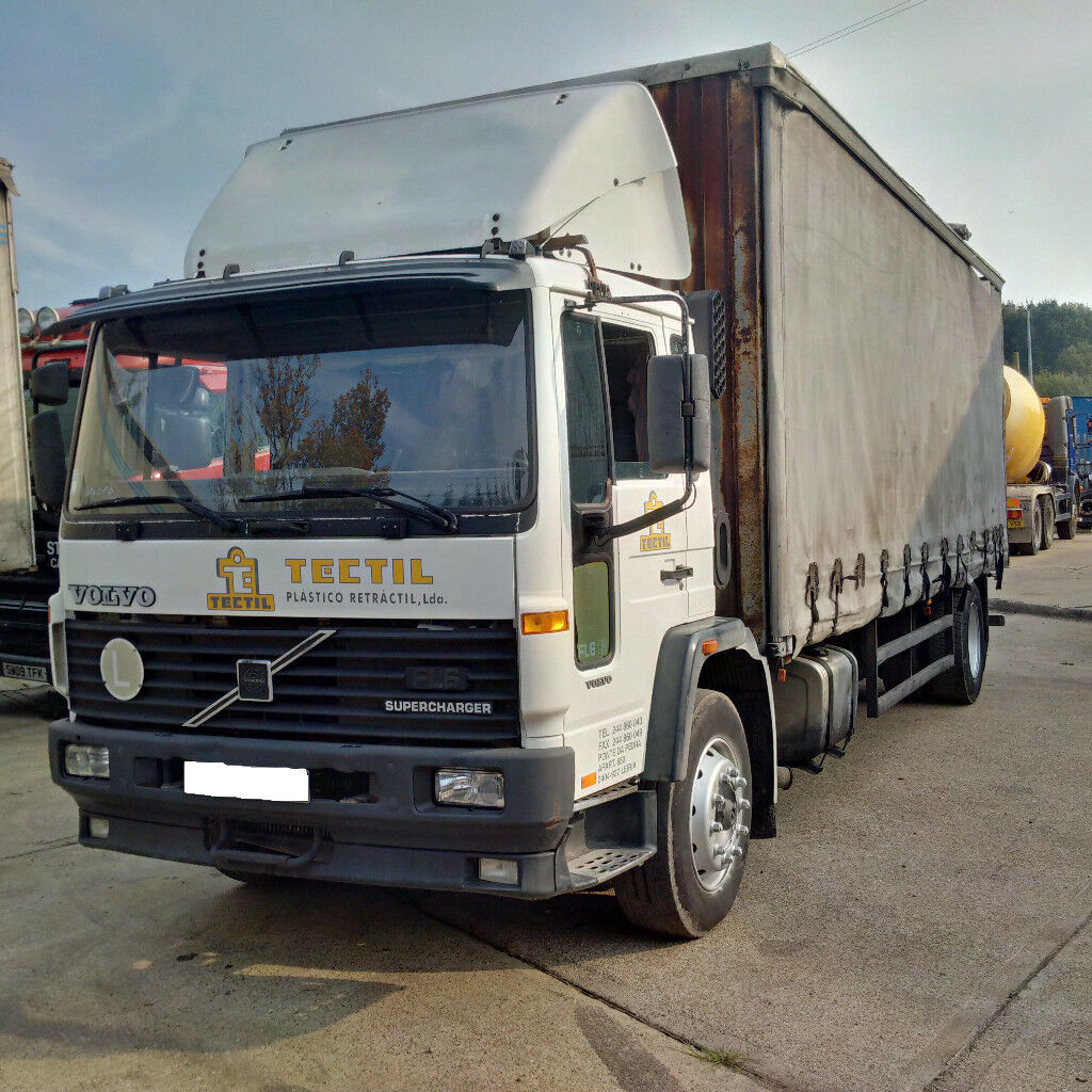 Left hand drive Volvo FL6 19 Supercharger 19 Ton curtainsider  Manual  injector pump  | in Brentwood, Essex | Gumtree