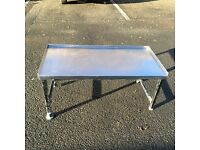 Stainless steal kitchen table