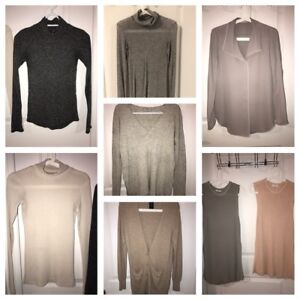 Aritzia Wilfred and Babaton Sweaters and Crop Tops Knit