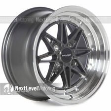 Circuit CP24 15×8 4-100 +25 Gun Metal Wheels Fits Honda ...