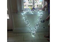 Christmas Metal heart