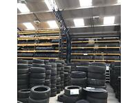 Car and Van tyres, New and Part-worn