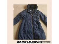 Girls jacket age 9 -10 years