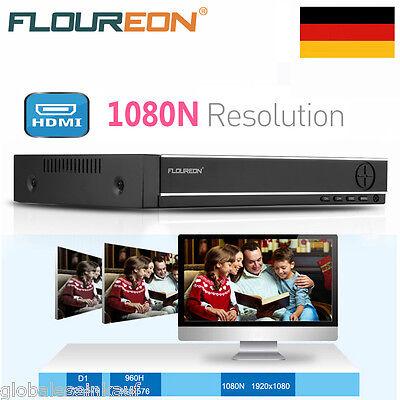 8CH 5 IN1 TVI AHD 1080N HDMI H.264 CCTV DVR NVR 1080P Netzwerk Videorecorder DE