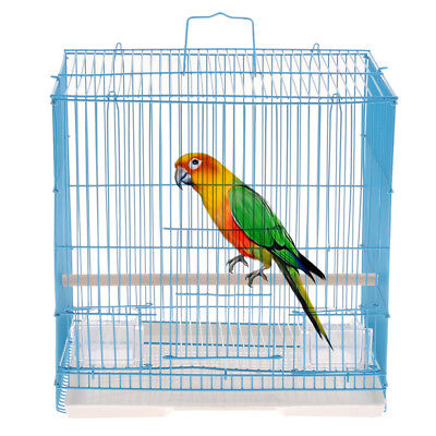 Bird Cage,Easy Install,Parrot Cage for Finch,Budgie,Cockatiel,Macaws BQ04