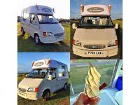 1997 Ford Transit Ice Cream Van Morrisons Body Soft Serve