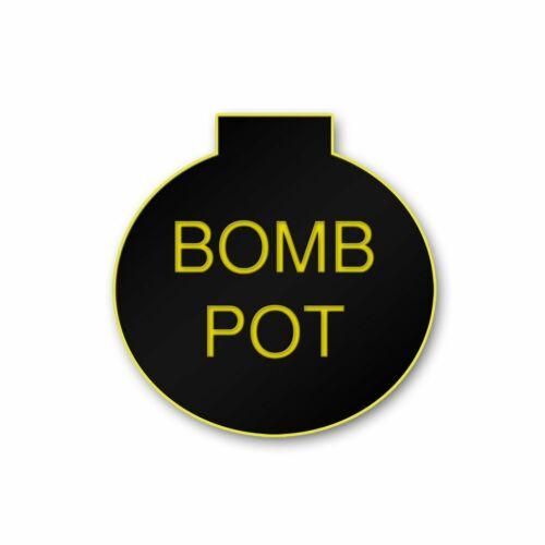 BLACK BOMB POT Poker dealer lammer button cash game