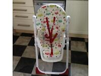 Lovely owl baby high chair