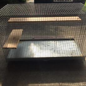 Guinea pig/rabbit indoor hutch