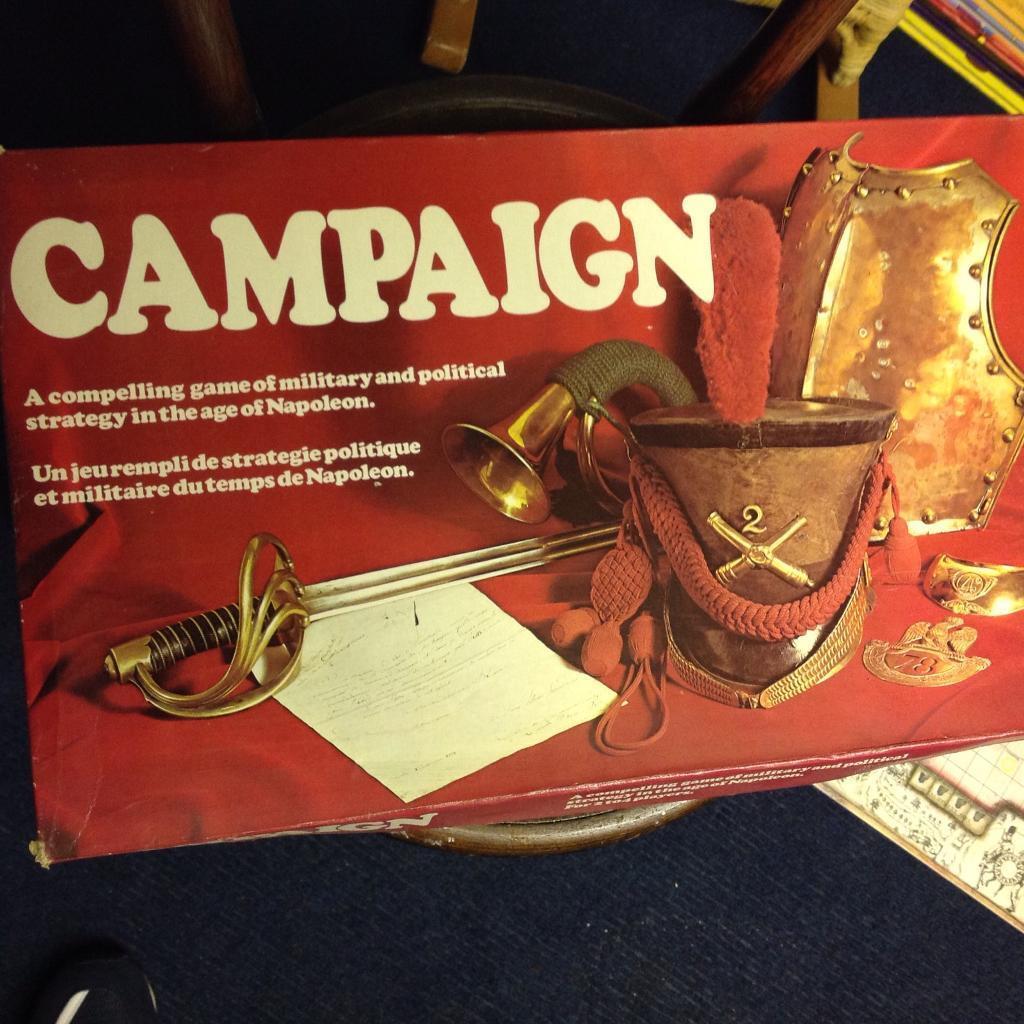 Board Game. campaign