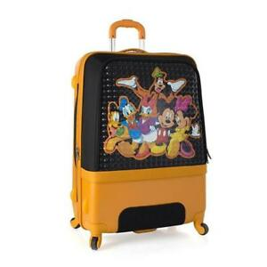 "Heys Disney Clubhouse 30"" Hybrid Spinner Luggage for Kids [Mickey & Friends]"
