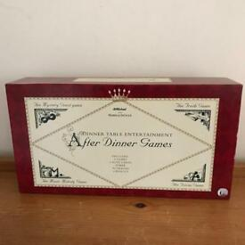 After Dinner Games by M&S, never been used.