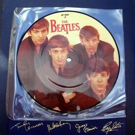 Beatles Love Me Do Original 1980s Picture Disc MINT.