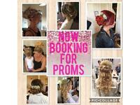 Have you booked your prom hair yet??