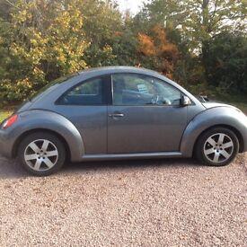2006 VW Beetle Metallic Grey