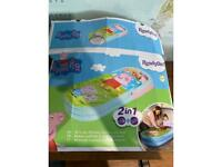 Peppa pig ready bed for toddler
