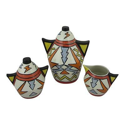 LORNA BAILEY ARTWARE TEMPEST TEAPOT SET LIMITED EDITION