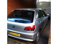 Peugeot 306 - Meridian 5 Door hatchback 1360 CC