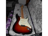 Fender American Elite Stratocaster. May trade telecaster.