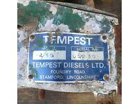 INBOARD ENGINES X2 TEMPEST MAKE