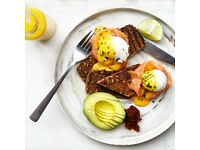 Assistant Manager for upscale Aussie brunch cafe, central london