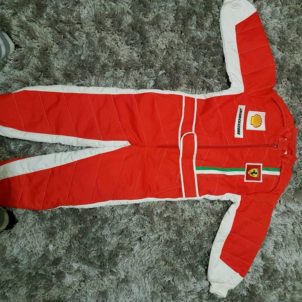 Ferrari jumpsuit Age 7-8