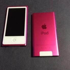 Apple nano 16GB pink 7 th generation