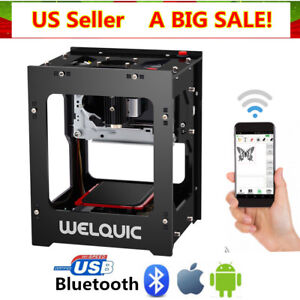 1500mW High Speed Bluetooth 4.0 USB Laser Engraver DIY Engraving Printer Machine