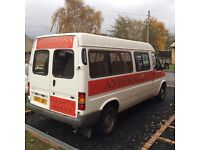 Ford transit mk5 smiley minibus