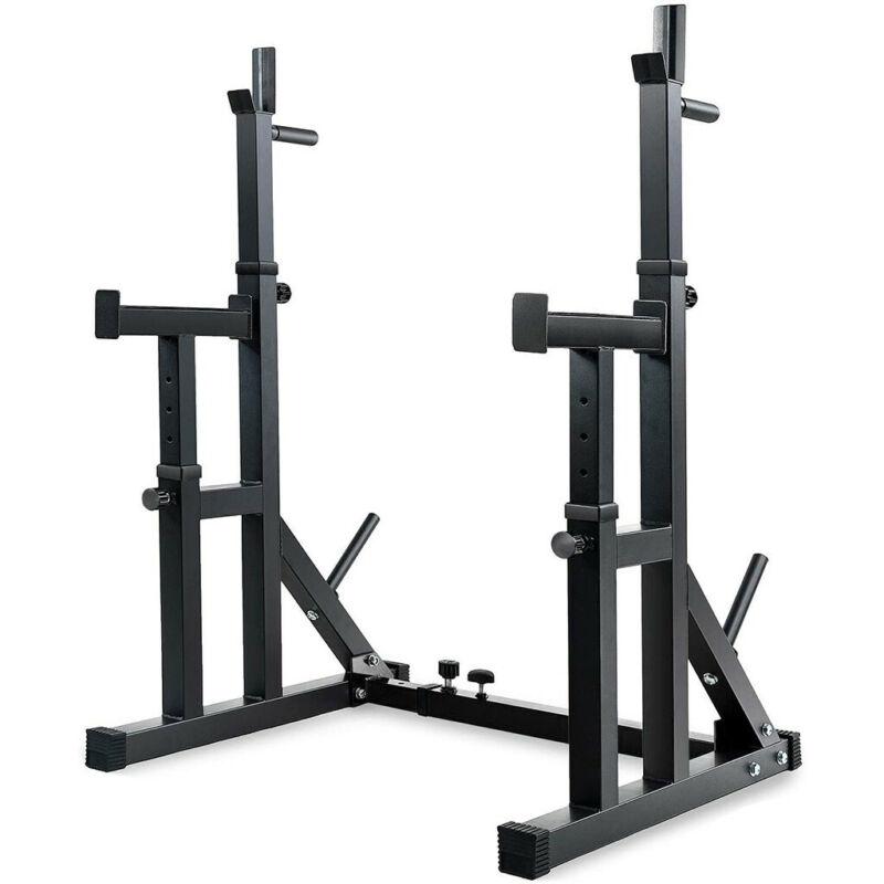 Adjustable Squat Rack Stands Multifunction Barbell Bench Pre