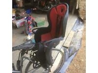 Pushbike childs seat