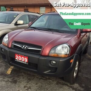 2009 Hyundai Tucson GL 4WD * CAR LOANS THAT FIT YOUR BUDGET