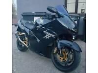 2004 reg honda cbr1100xx super blackbird swap