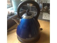 Russell Hobbs Heritage kettle - bright blue