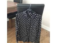Top shop blouse size 12