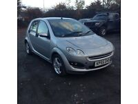 Smart 4 with 1 years mot