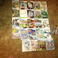 Wii console, remotes, accessories and games