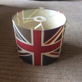Union Jack lampshade only had a couple of months from Dunelm so in great condition