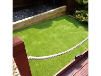 Artificial grass, block paving, patios, landscaping