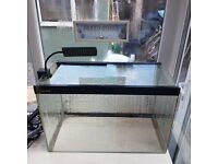 2FT Clearseal Aquarium, Light and Lid
