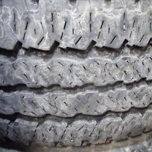 FIRESTONE TRANSFORCE A/T LT 285/60R20 10 PLY TIRES 85% TREAD 285/60/20