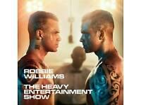 Robbie Williams tickets x2