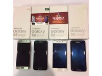 SAMSUNG GALAXY S6 EDGE UNLOCKED MINT CONDITION COMES WITH WARRANTY & RECEIPT